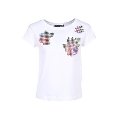Love Moschino W4F3051 women's T shirt in White