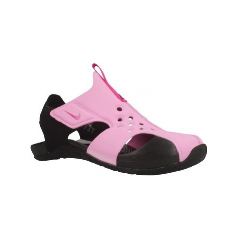 Nike SUNRAY PROTECT 2 girls's Children's Sandals in Pink