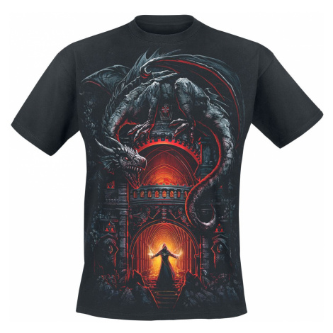 Spiral Dragon's Lair T-Shirt black