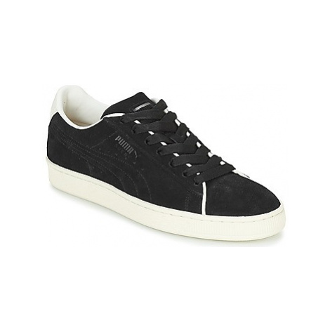 Puma SUEDE CL RAISED FS.BL-WHIS women's Shoes (Trainers) in Black
