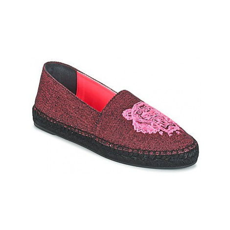 Kenzo TIGER FLUO CANVAS MIXED women's Espadrilles / Casual Shoes in Pink