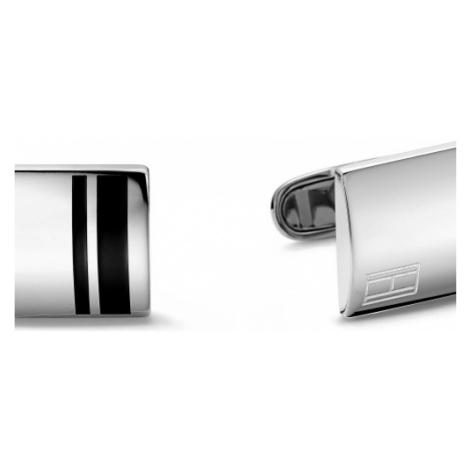 Mens Tommy Hilfiger Stainless Steel Fine Core Cufflinks 2701019
