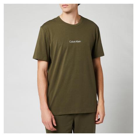 Calvin Klein Men's Camo Waistband Joggers - Army Green