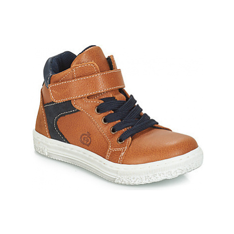 Citrouille et Compagnie JERA boys's Children's Shoes (High-top Trainers) in Brown