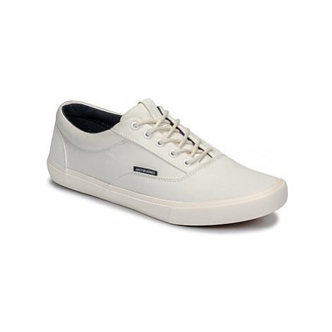 Jack Jones VISION CLASSIC MIXED men's Shoes (Trainers) in White Jack & Jones