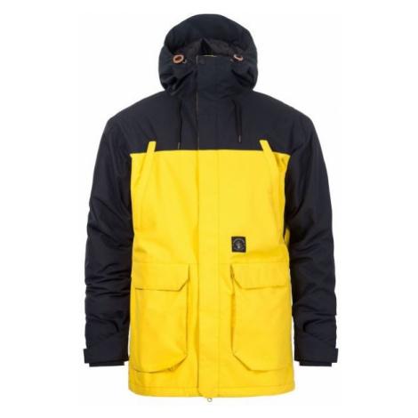 Horsefeathers CORDON ATRIP JACKET yellow - Men's ski/snowboard jacket