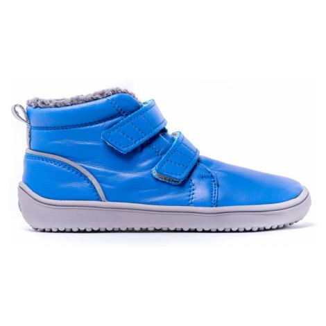 Be Lenka Kids Winter barefoot - Penguin - Blue 35