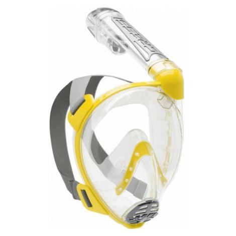Cressi DUKE yellow - Full-face snorkelling mask
