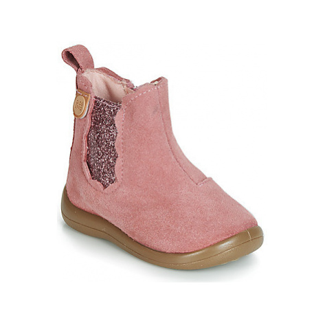 Gioseppo CANTWELL girls's Children's Mid Boots in Pink