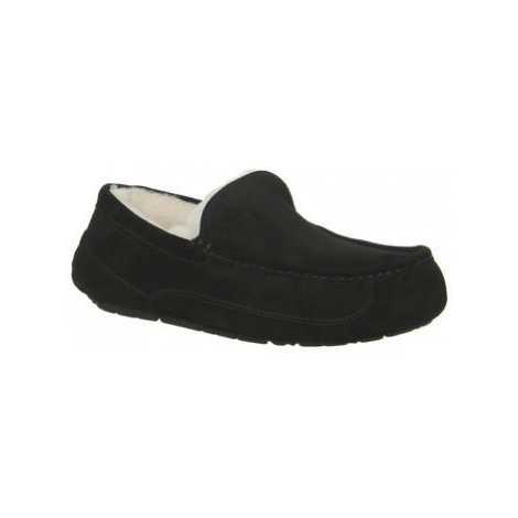 UGG Ascot Slipper BLACK SUEDE NEW