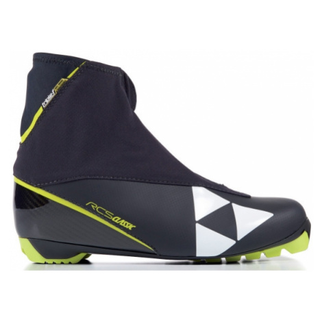 Fischer RCS CLASSIC black - Nordic ski boots for classic style