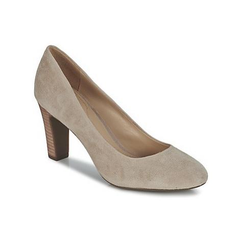 Geox NEW MARIELE HI women's Court Shoes in Beige
