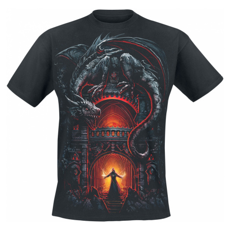 Spiral - Dragon's Lair - T-Shirt - black