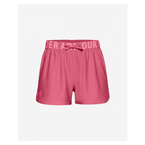 Under Armour Play Up Solid Kids Shorts Pink