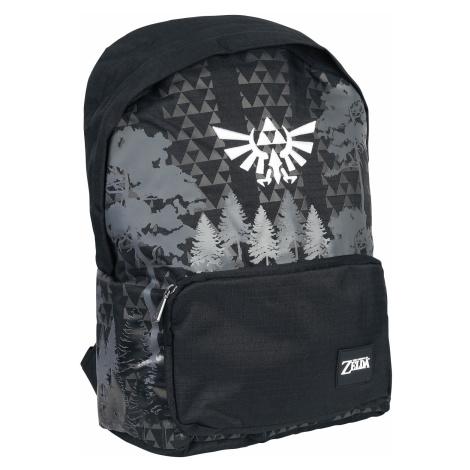 The Legend Of Zelda - - Backpack - black-white