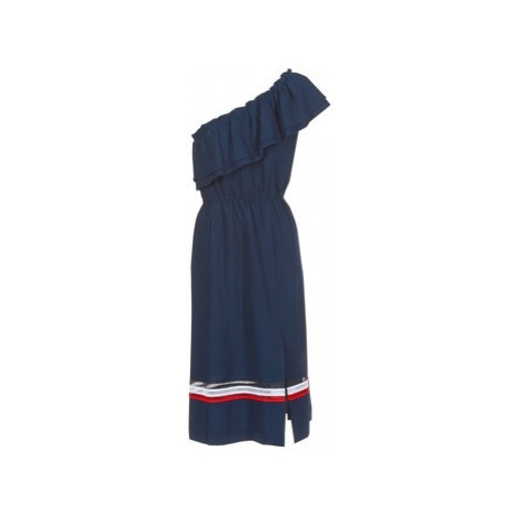 Tommy Hilfiger OC JOIE DRESS women's Long Dress in Blue