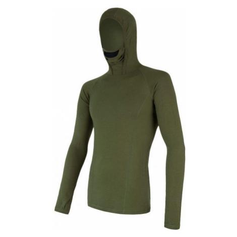 Sensor MERINO DF green - Men's functional T-shirt