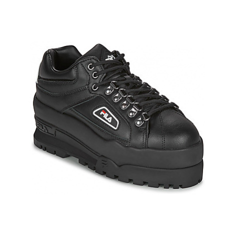 Fila TRAILBLAZER WEDGE WMN women's Shoes (Trainers) in Black