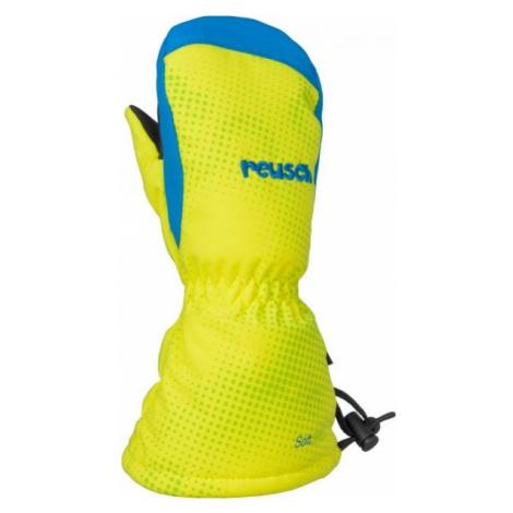 Reusch MAXI R-TEX XT yellow - Kids' mittens