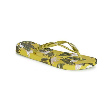 Ipanema I LOVE TROPICAL women's Flip flops / Sandals (Shoes) in Green