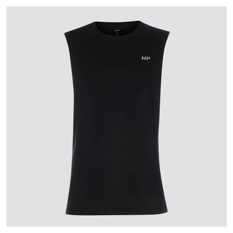 MP Men's Essentials Drop Armhole Tank - Black Myprotein