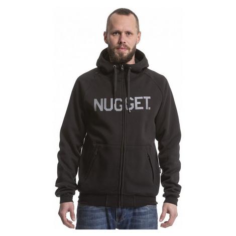 sweatshirt Nugget Seeker Zip - A/Black - men´s