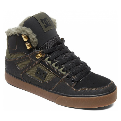 shoes DC Pure High -Top WC WNT - BO0/Black/Olive - men´s