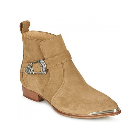 Ikks BATCHIGUE women's Mid Boots in Beige