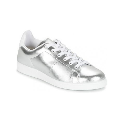 Yurban EXIVILE women's Shoes (Trainers) in Silver