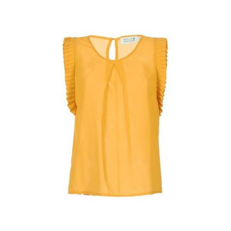 Molly Bracken LADEORTE women's Blouse in Yellow
