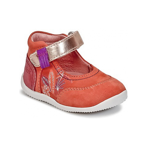 Kickers BIMAMBO girls's Children's Shoes (Pumps / Ballerinas) in Pink