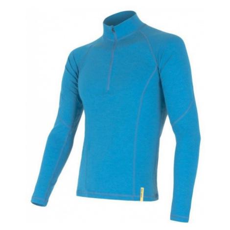 Sensor MERINO DF blue - Men's functional T-shirt