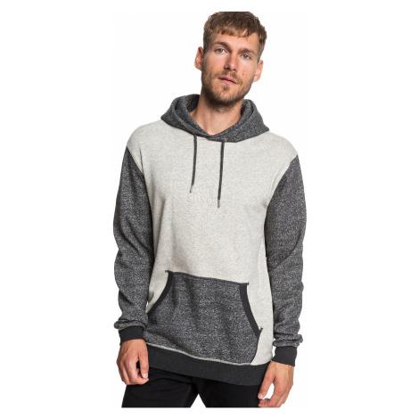 sweatshirt Quiksilver Global Grasp Hood - KRPH/Dark Gray Heather - men´s