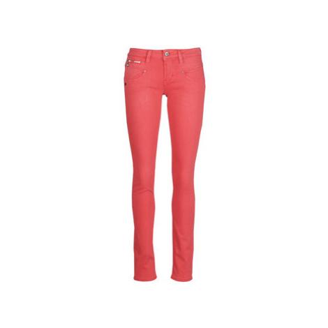 Freeman T.Porter Alexa Slim New Magic Color women's Trousers in Red Freeman T. Porter