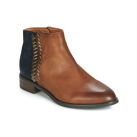 Mam'Zelle SOLOGNE women's Mid Boots in Brown