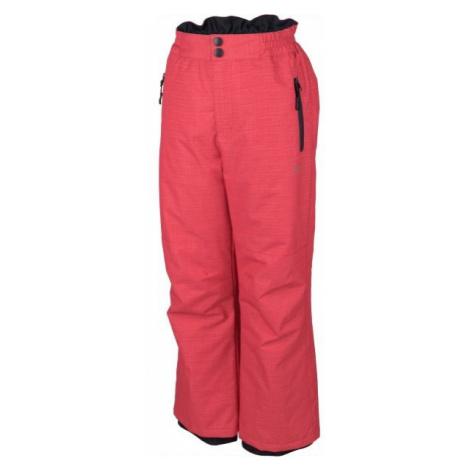 Lewro NUR pink - Kids ski pants