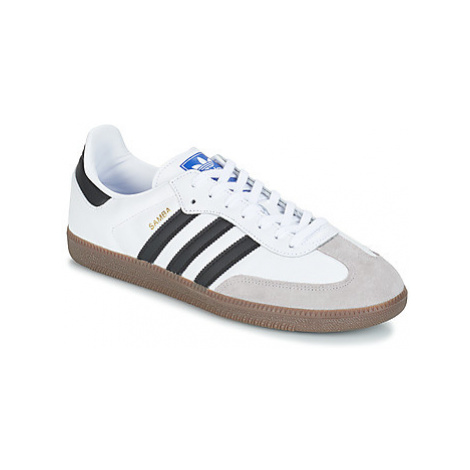 Adidas SAMBA OG women's Shoes (Trainers) in White