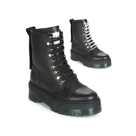 Bronx RIFKA SUPER CHUNKY women's Mid Boots in Black
