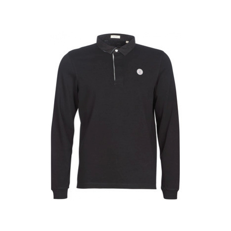 Serge Blanco POLO JERSEY men's Polo shirt in Black