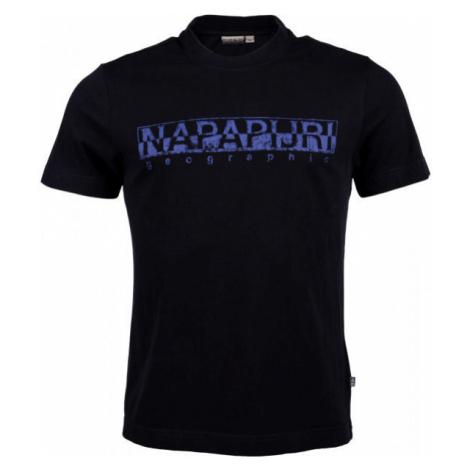 Napapijri SOLANOS black - Men's T-Shirt