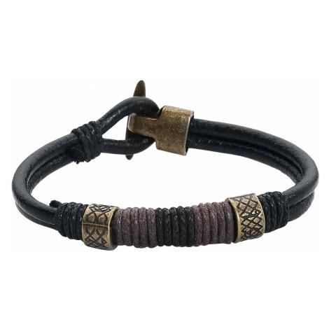 EtNox - Vikings - Leather bracelet - black