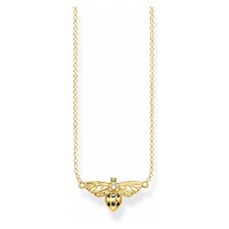 Thomas Sabo Jewellery Glam & Soul Bee Necklace KE1866-414-7-L45V