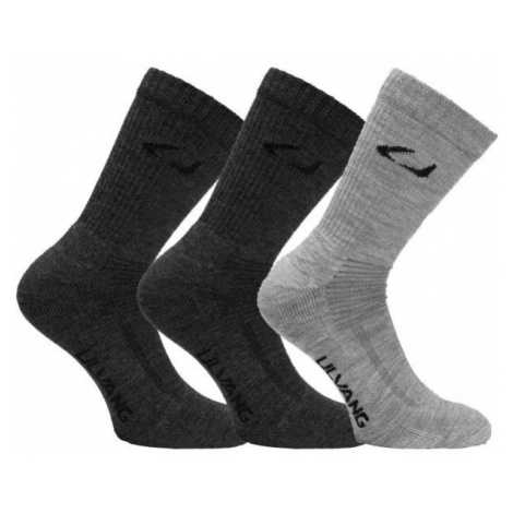 Ulvang ALLROUND 3PCK grey - Wool socks