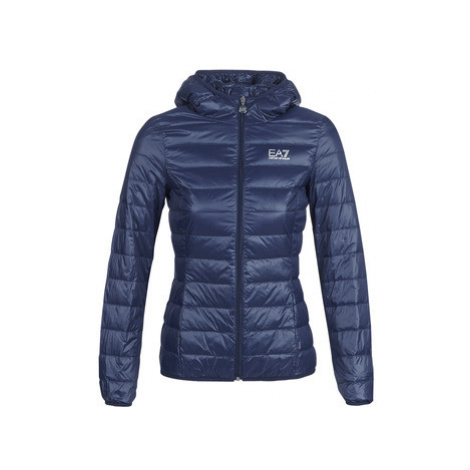 Emporio Armani EA7 TRAIN CORE LADY LT DOWN JACKET women's Jacket in Blue