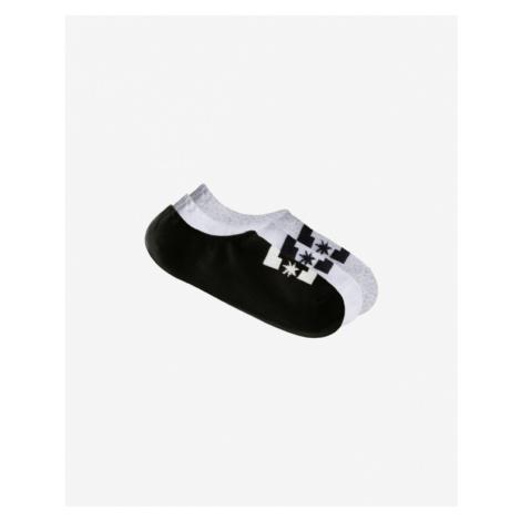 DC Set of 3 pairs of socks Black White Grey
