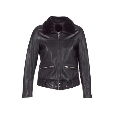 Oakwood 62563 women's Leather jacket in Black