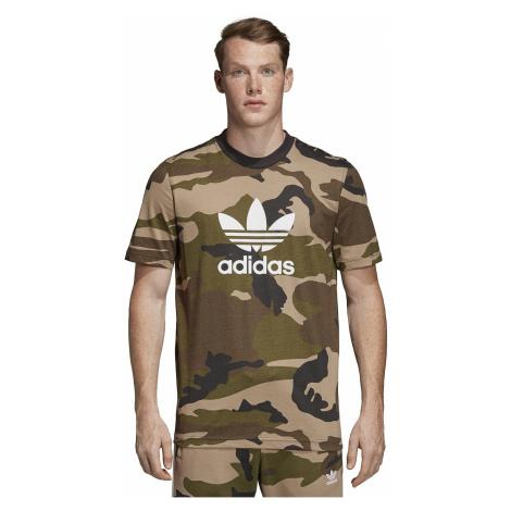 T-Shirt adidas Originals Camo - Multicolor/Utility Black - men´s