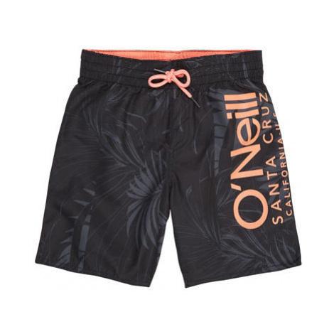 O'Neill PB CALI FLORAL SHORTS black - Boy's swim shorts
