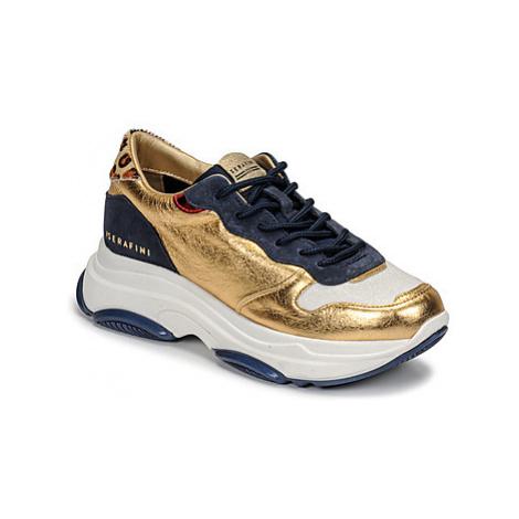 Serafini BROOKLYN women's Shoes (Trainers) in Gold