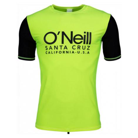 O'Neill PM CALI S/SLV SKINS green - Men's swimming shirt